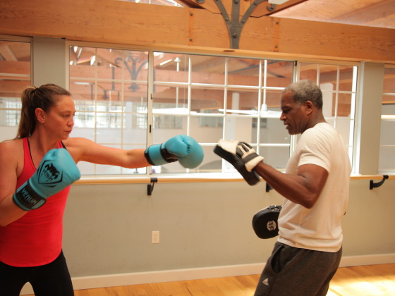oakland boxing with personal trainer
